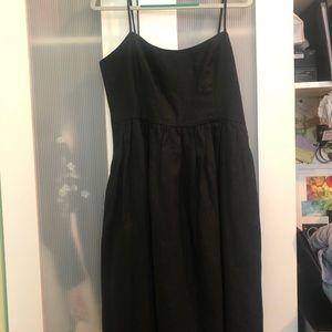 Cynthia Rowley Black Linen Dress